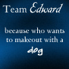 Team Edward icon - one by OblivionMaster