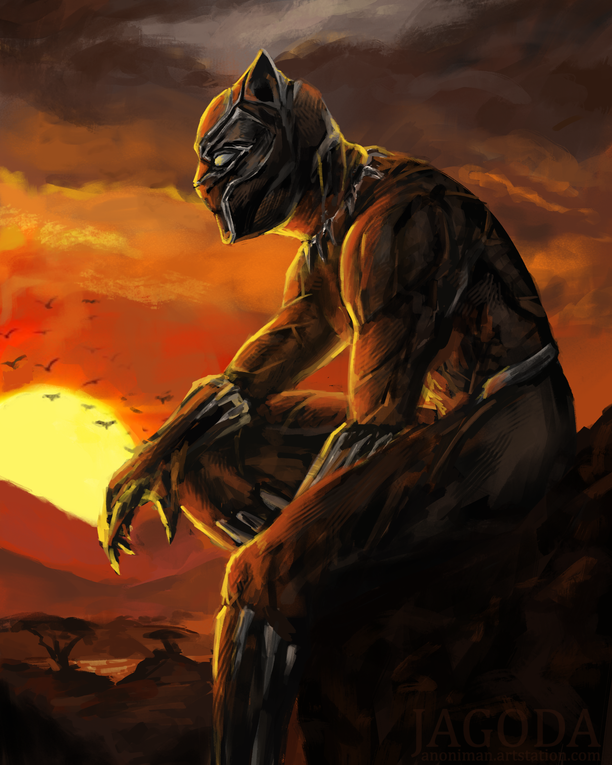 Black Panther By Theanoniman On Deviantart