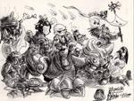 yokai and obakemono parade 1