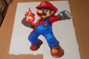 Mario (Mini-Beads) by FTWBAmanojaku