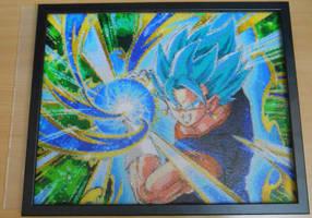YOSHA! ...and this is - Vegetto Blue! (Mini-Beads) by FTWBAmanojaku