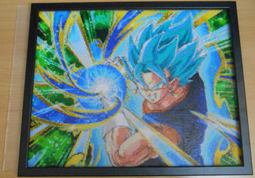YOSHA! ...and this is - Vegetto Blue! (Mini-Beads) by FTWBAmanojaku