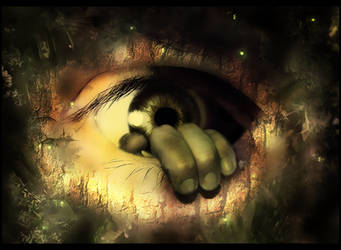 Eye from nowhere by traneejnn
