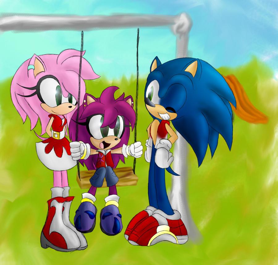 Sonic Amy Rose