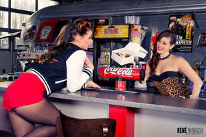 Pin-Up: Kat and Rachel 2 by ReneWarich