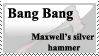 Maxwell's silver hammer stamp by Rose-of-the-Shadows