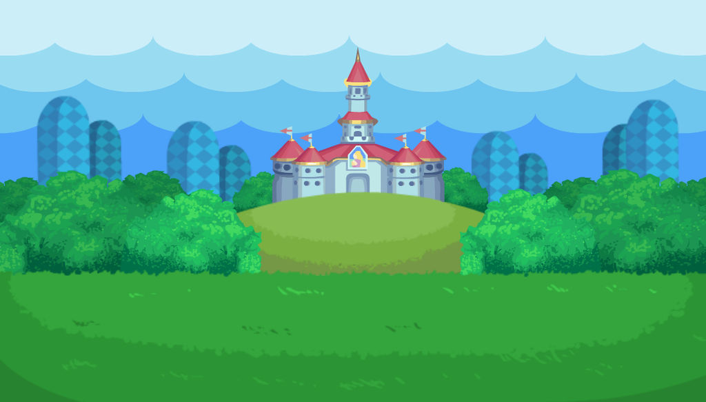 Beautiful Mushroom Kingdom Field By Mitchell00 On Deviantart