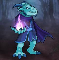 Blue Dragon Man