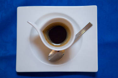 Another Blue Cofee by glennsilver