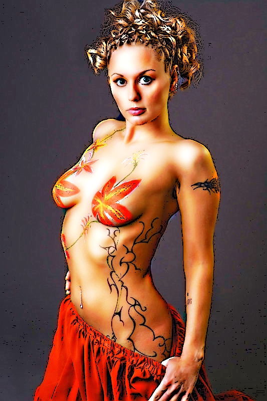 BODY PAINT by YOKOKY