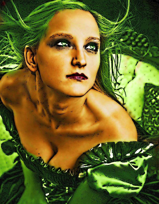 LADY GREEN by YOKOKY