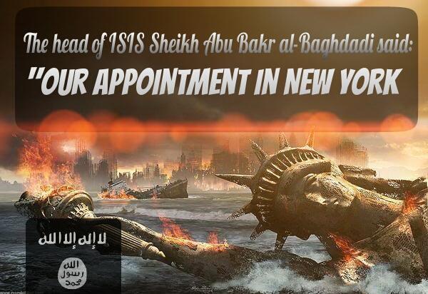 ISIS-New-York-Threat by YOKOKY