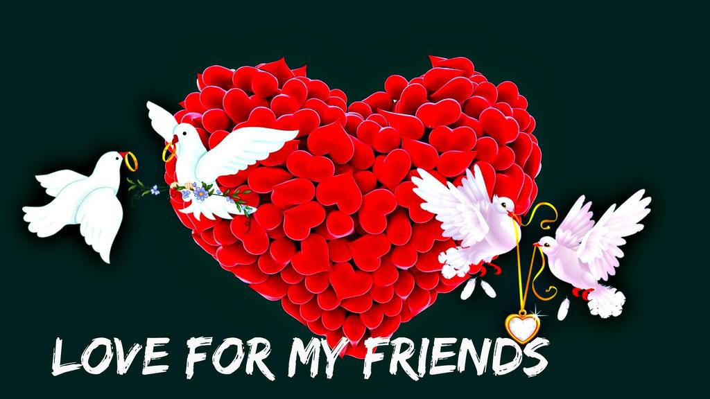 Love-FOR MY FRIENDS by YOKOKY