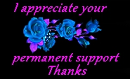 I Appreciate Your Permanent Support Thanks By Madn by YOKOKY