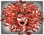 Medusa- As The Myth Of The Rock Snake Woman
