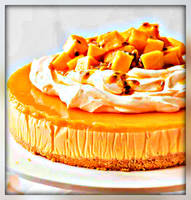 Mango-Cheesecake by YOKOKY