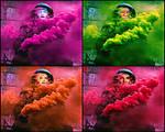 Smoke-collage