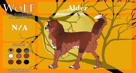 WoLF | Alder | Dormant by SheltieJoy