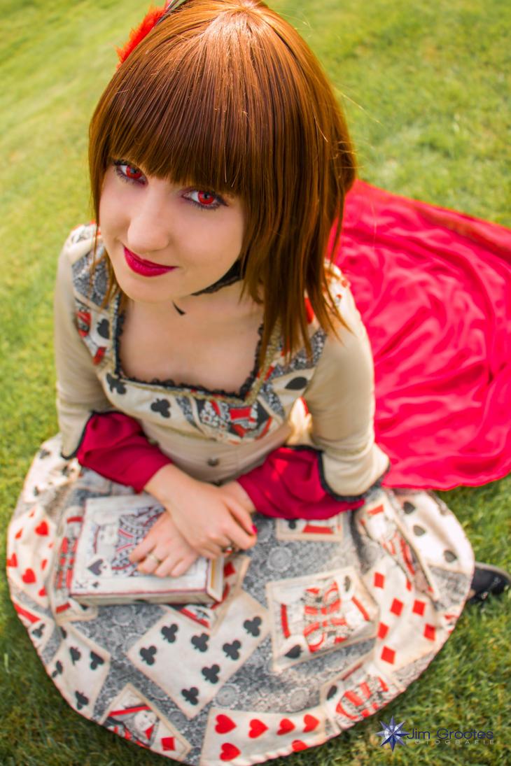 Card Magician Lady by UndercoverKadaj
