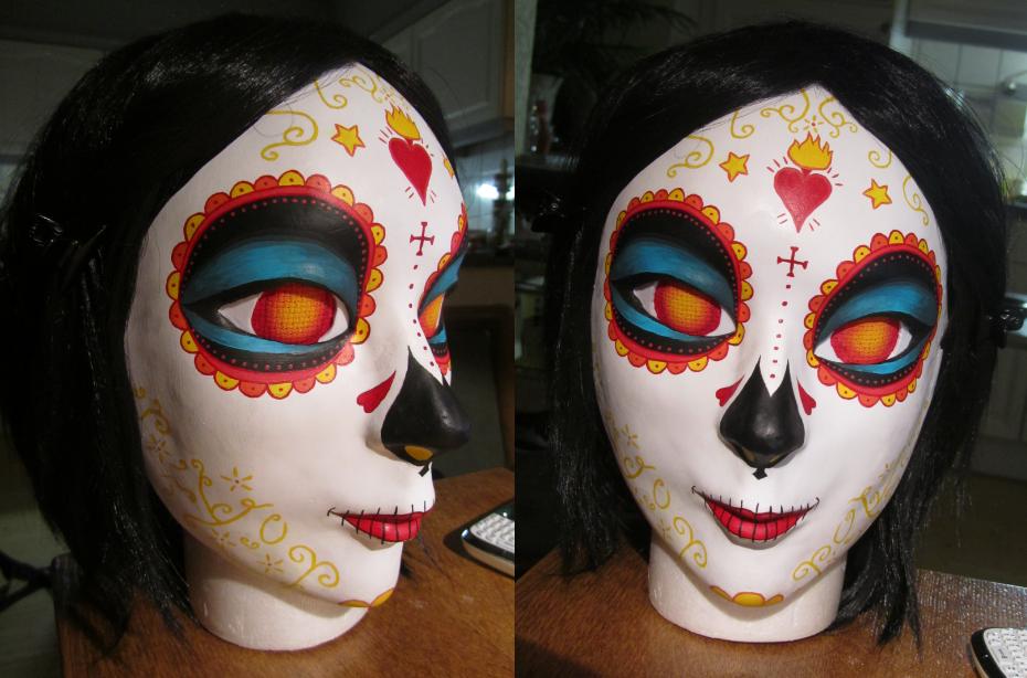 La Muerte mask - the book of life by UndercoverKadaj