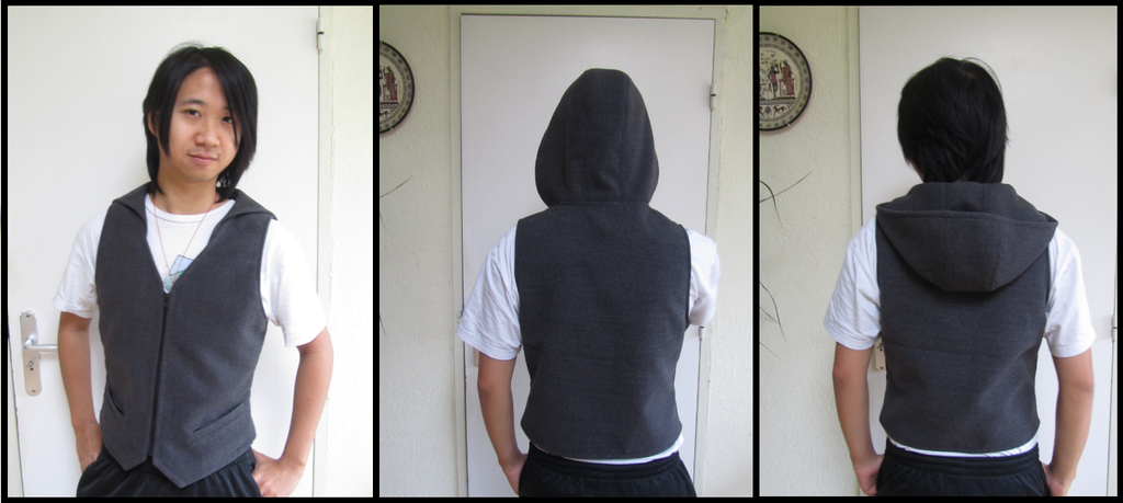Male vest by UndercoverKadaj