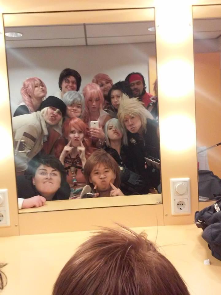 Final fantasy group derp!~ by UndercoverKadaj