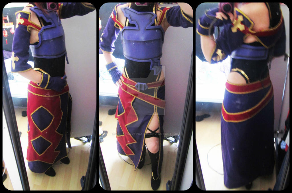 Yuuki Konno costume. by UndercoverKadaj