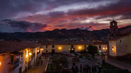 cusco by night