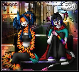 Aria and Suki -Underground...