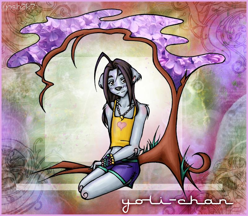 Yoli - Under the Lilac Tree - by piratebooty