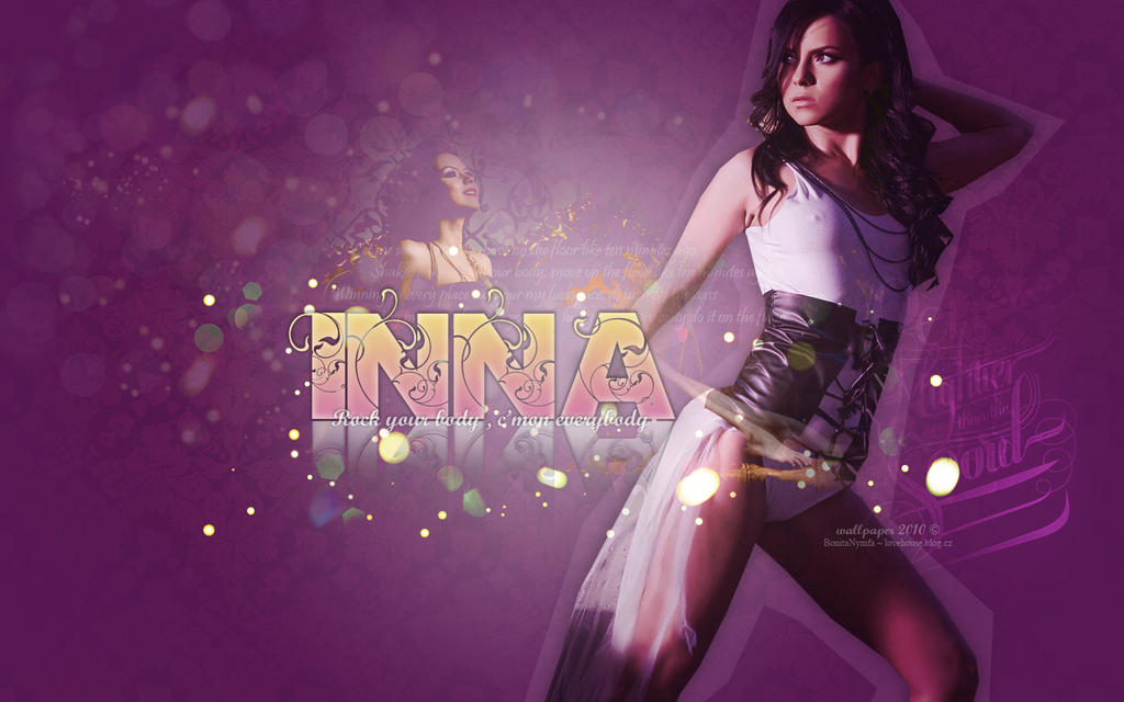 Wallpaper inna by bonitanymfa on deviantart - Inna wallpaper hd ...
