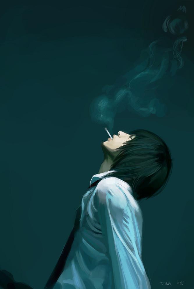 Sleepingpills and cigarettes by SiriusC