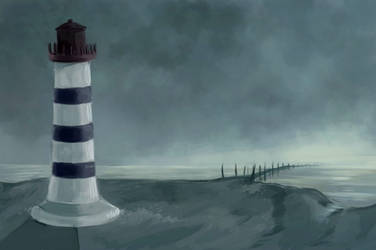 Le phare by SiriusC
