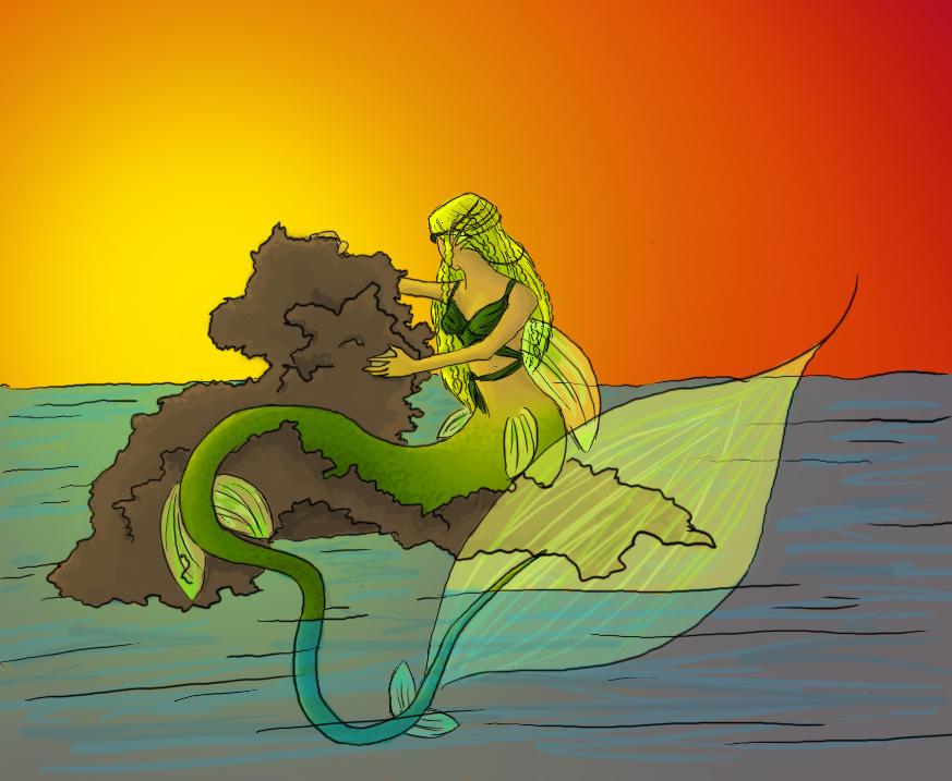Mer - Forbidden Sunrise by Zanai