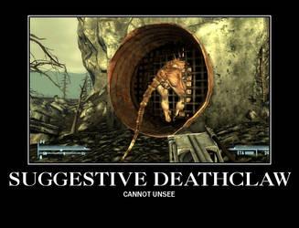 Suggestive deathclaw