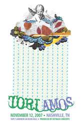 Tori Amos Concert Poster by rhinosserossy