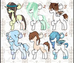 !Pony Adopts! 4/6 (OPEN)