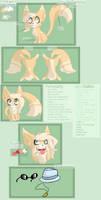 Kitty~ [Ref Sheet] by Kittyrocker