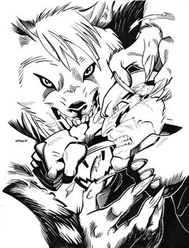 Bloodhound vs. Red Guardian Mock Cover