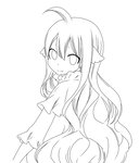 Mavis Vermilion lineart 2 by keit45