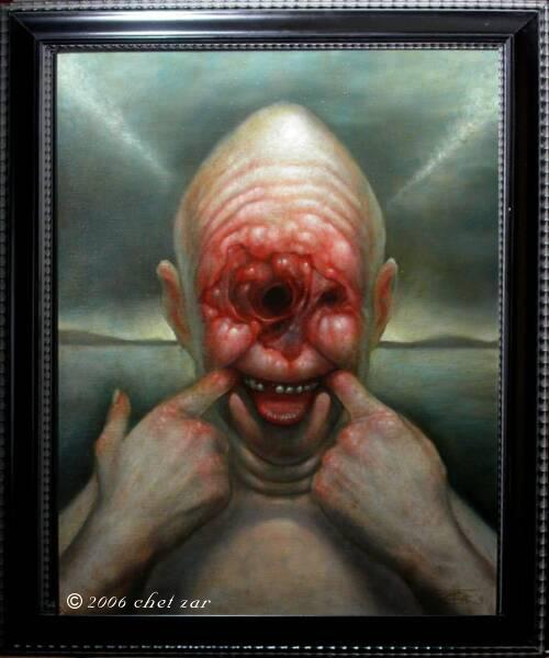 Cancerface by chetzar