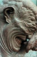 Softspot clay sculpture CU by chetzar