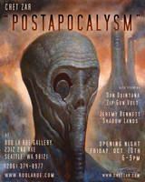 'Postapocalysm' flyer by chetzar