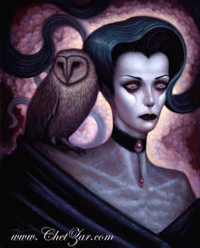 Lilith and Her Owl Familiar