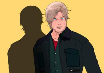Resident Evil 6 - Leon by Matt-Addison