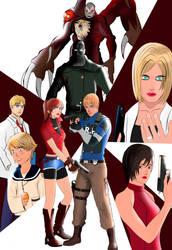 Resident Evil 2 Remake by Matt-Addison