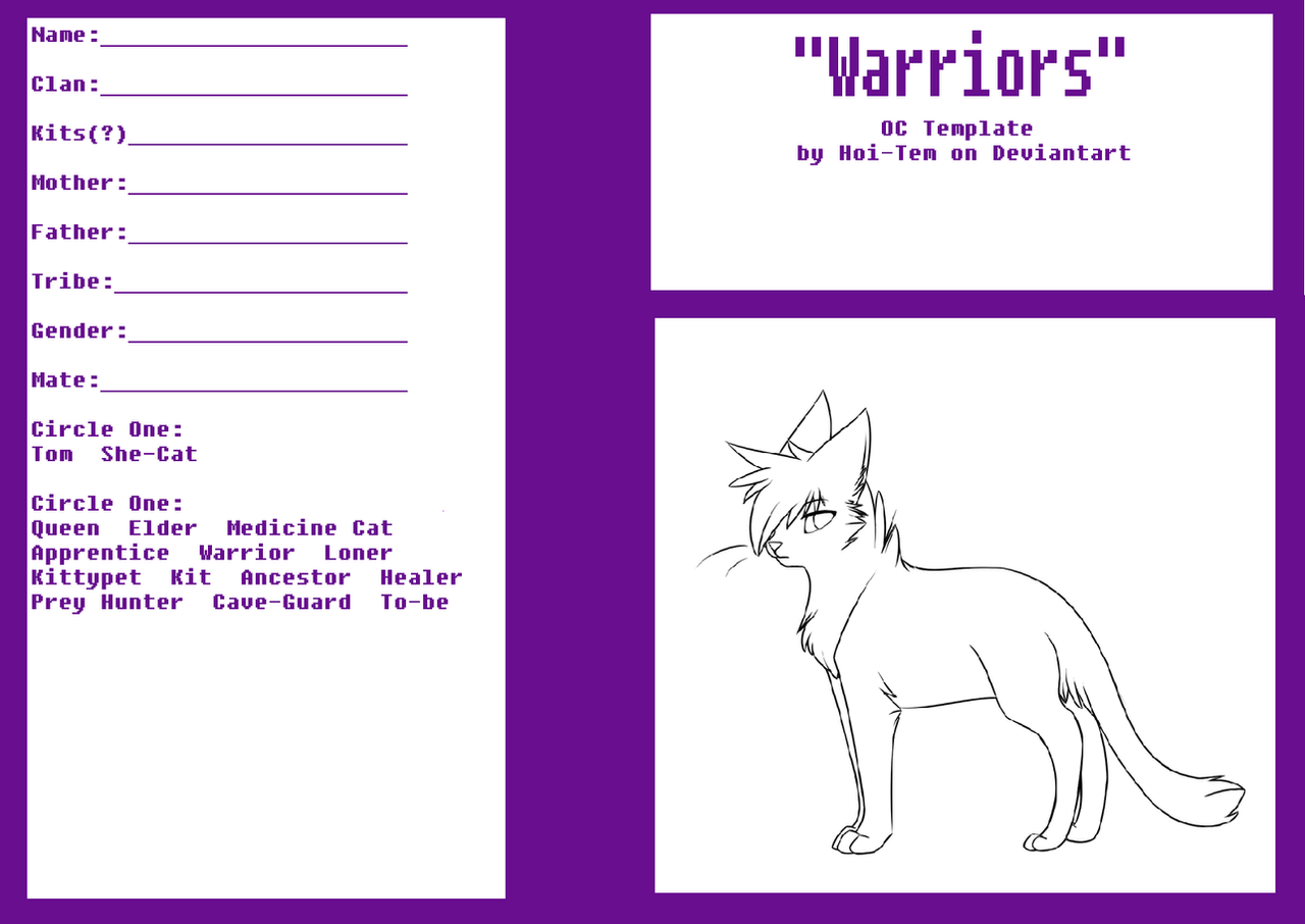 What Warrior Cat Are You Quotev
