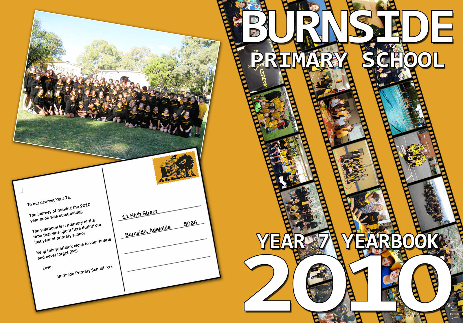 School Yearbook Cover Design : Bps yearbook cover by lordwhiteside on deviantart