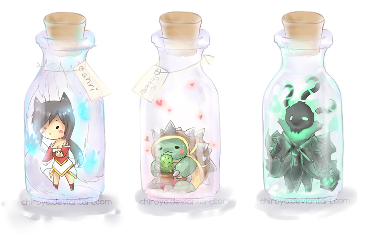bottled champions by Chiroyo