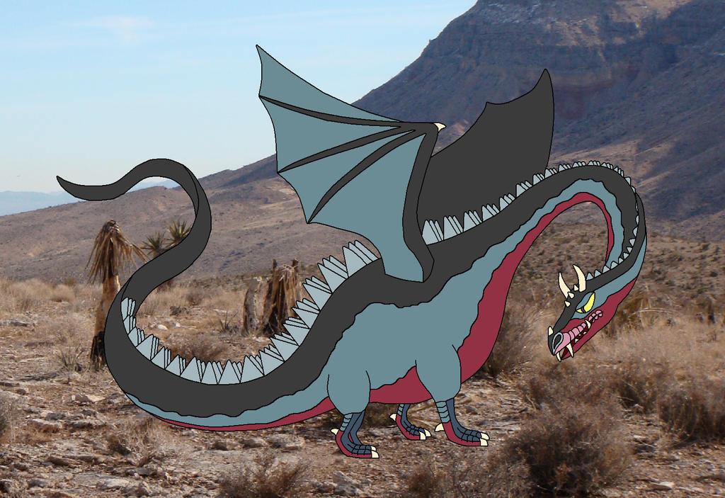 Bryaugh the devil dragon by Alondra-chui